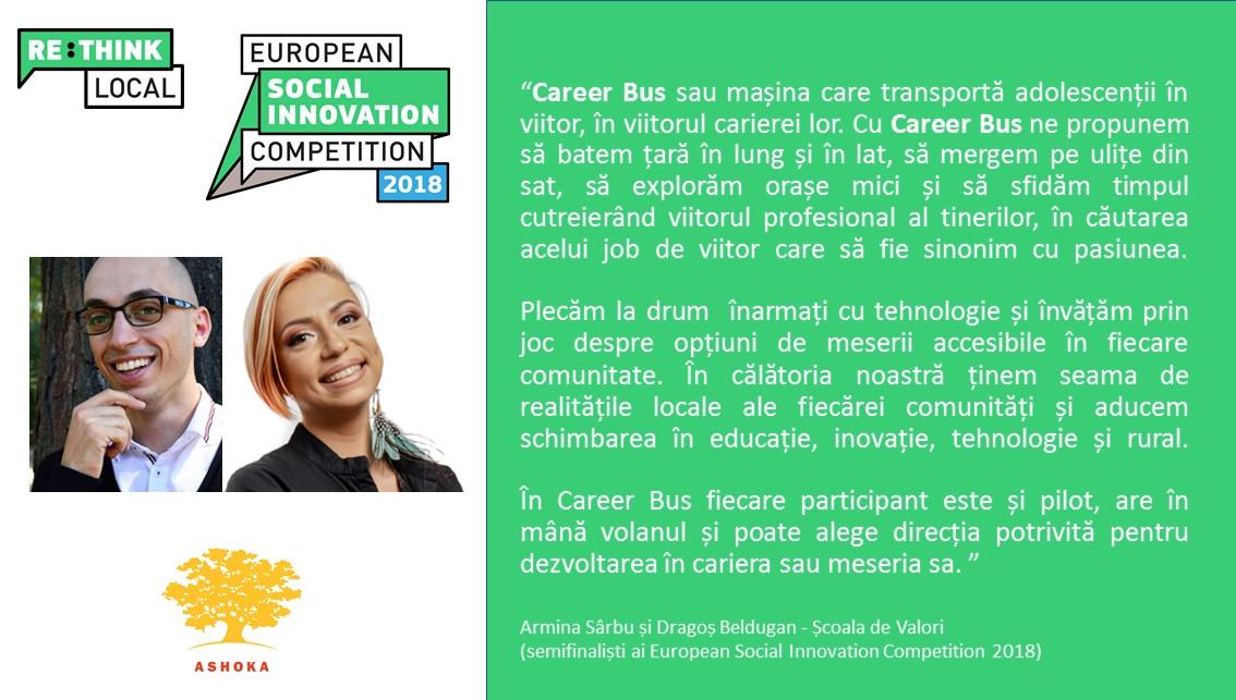 Cea mai mare competiţie europeană de inovare socială