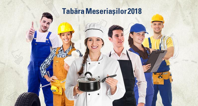 Tabăra Meseriașilor din Țara lui Andrei recrutează voluntari