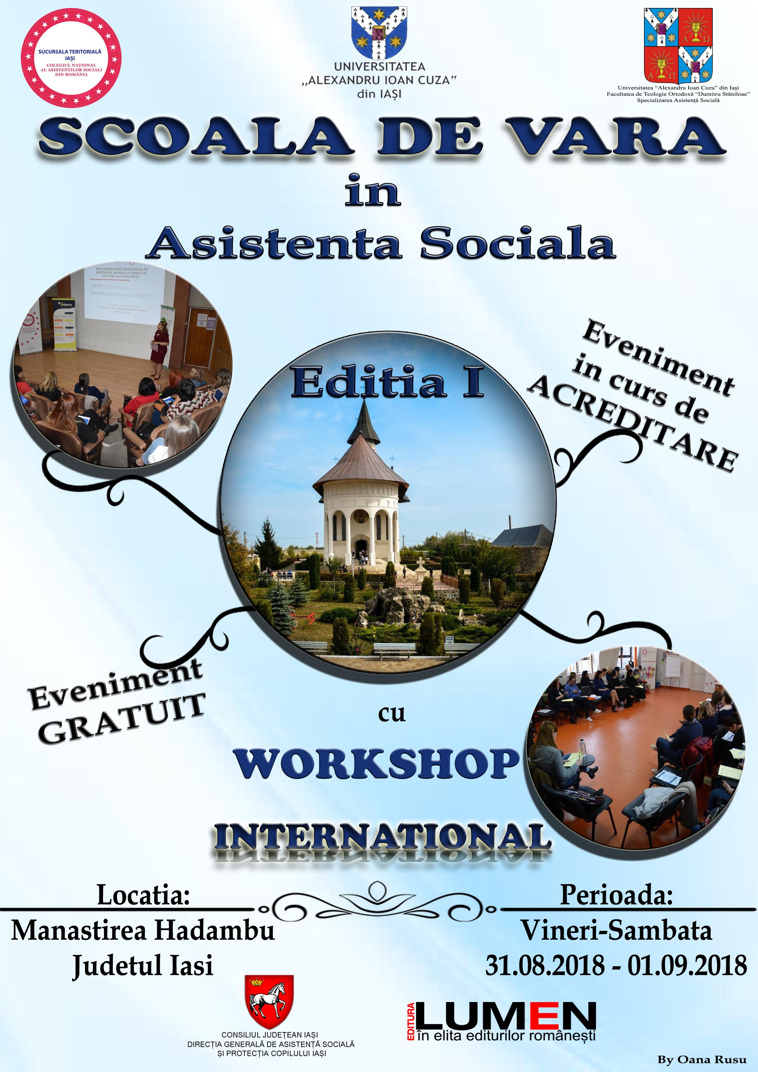 Școală de Vară în Asistență Socială
