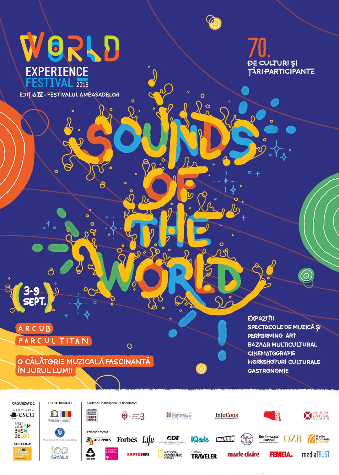 Festivalul Ambasadelor va avea loc între 3-9 septembrie la ARCUB și Parcul Titan