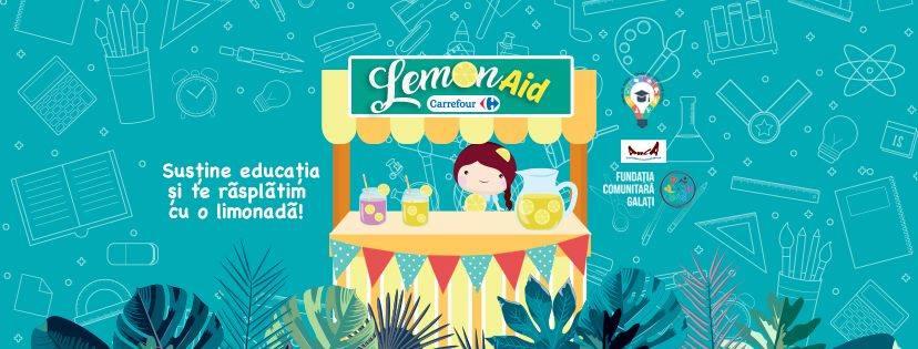 LemonAid - eveniment filantropic la Galaţi