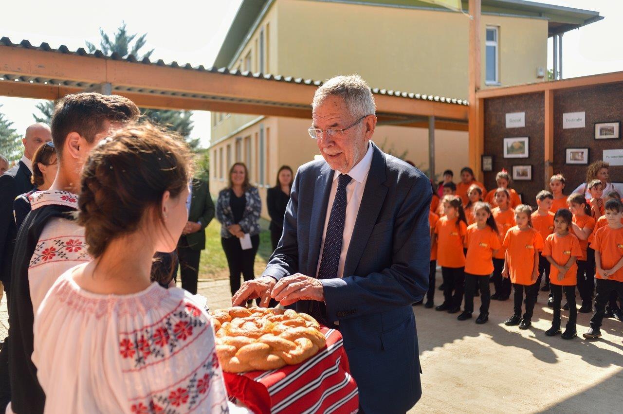 Vizita Președintelui Austriei Alexander Van der Bellen la Organizația Umanitară CONCORDIA