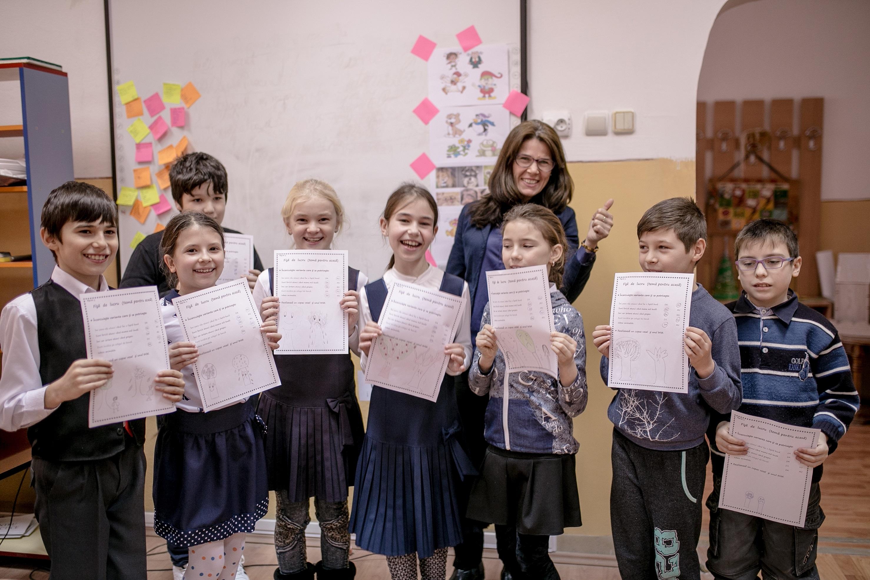 FinanÈ›are de 220.000 de euro pentru educaÈ›ia copiilor cu risc de abandon È™colar