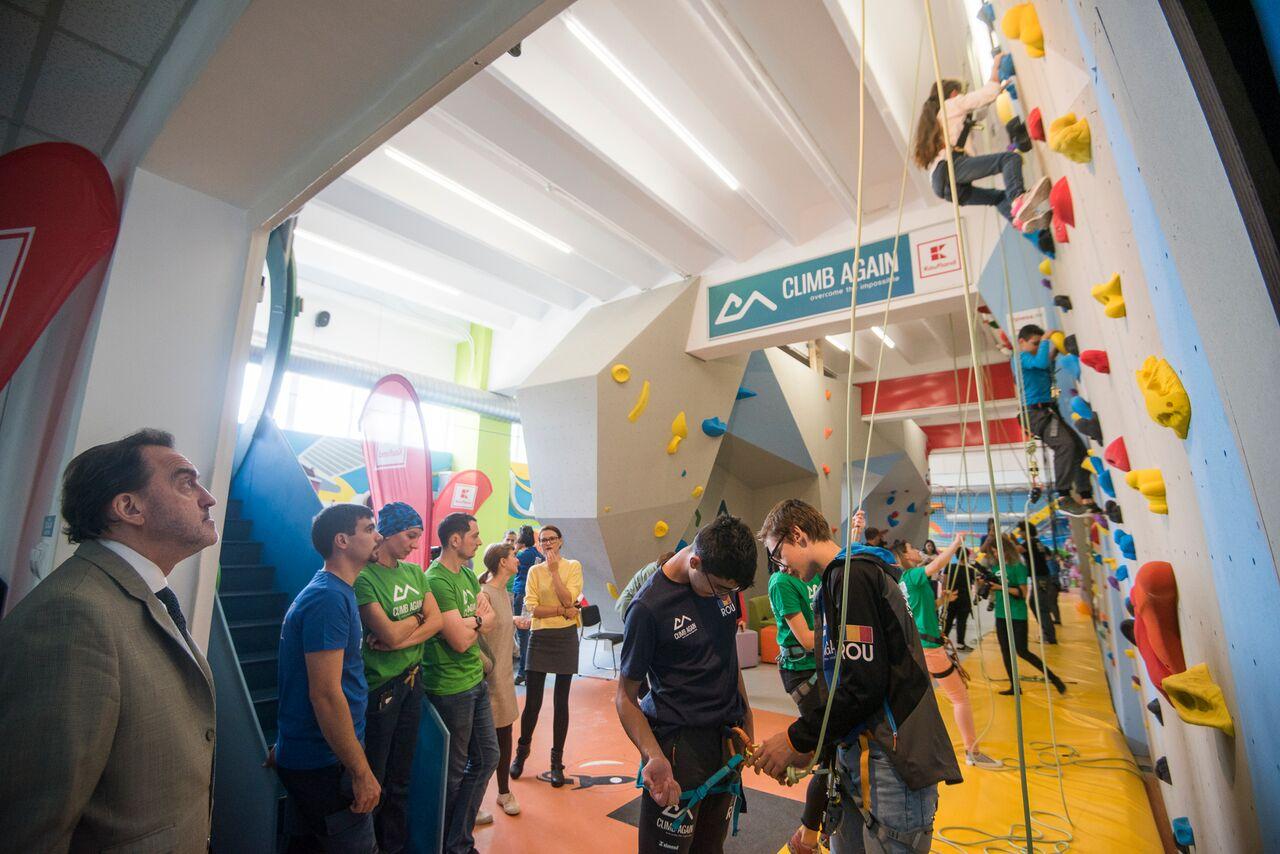 Primul centru de terapie prin sport pentru copiii cu nevoi speciale din România