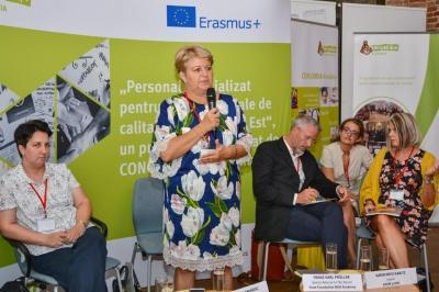 """conferința finală a Proiectului """"Personal specializat pentru servicii sociale de calitate în Europa de Est"""""""