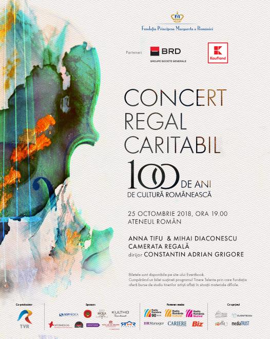 Fundația Principesa Margareta a României vă invită la Concertul Regal