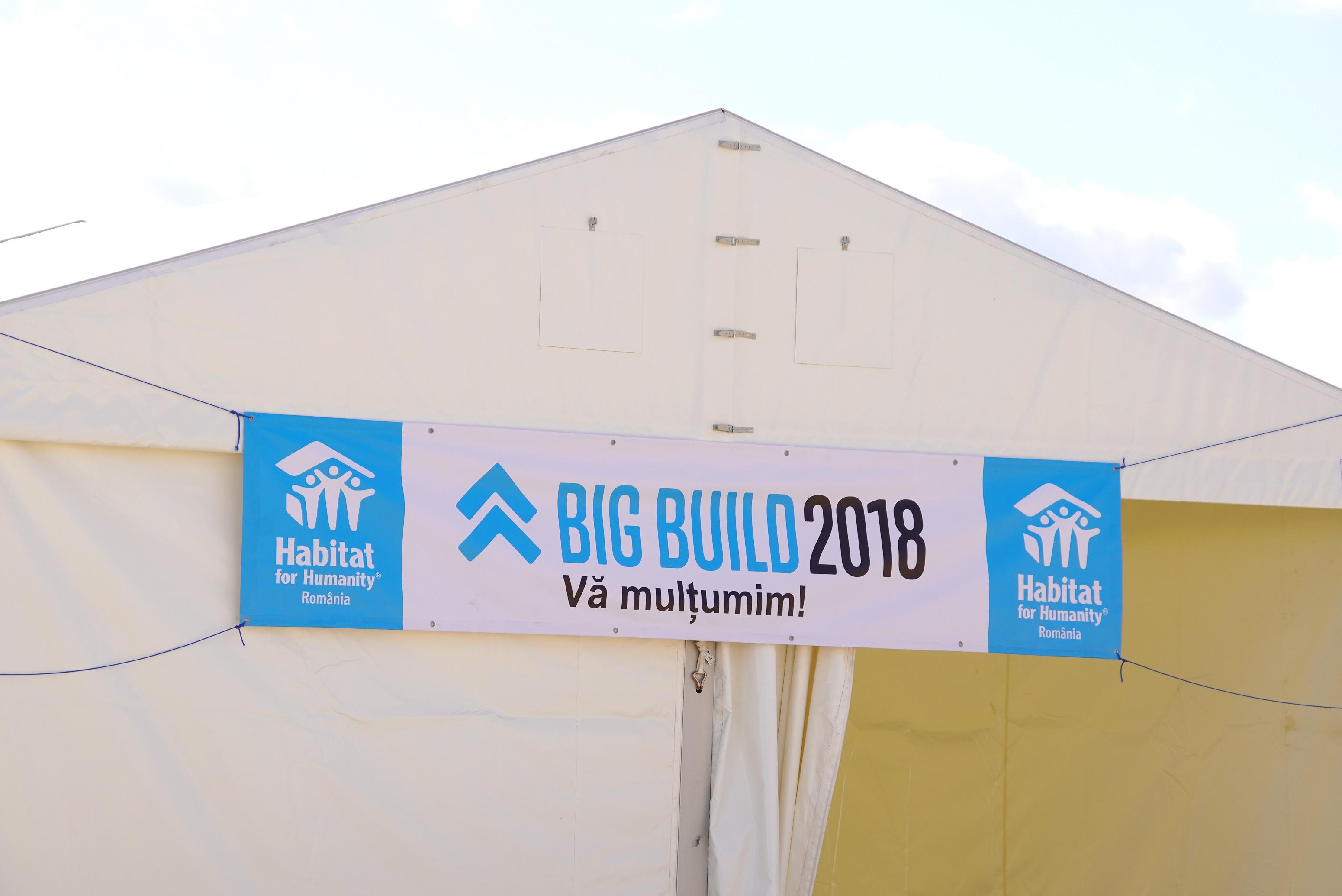 Ariston continuă să sprijine proiectul BIG BUILD 2018  prin donarea de centrale termice