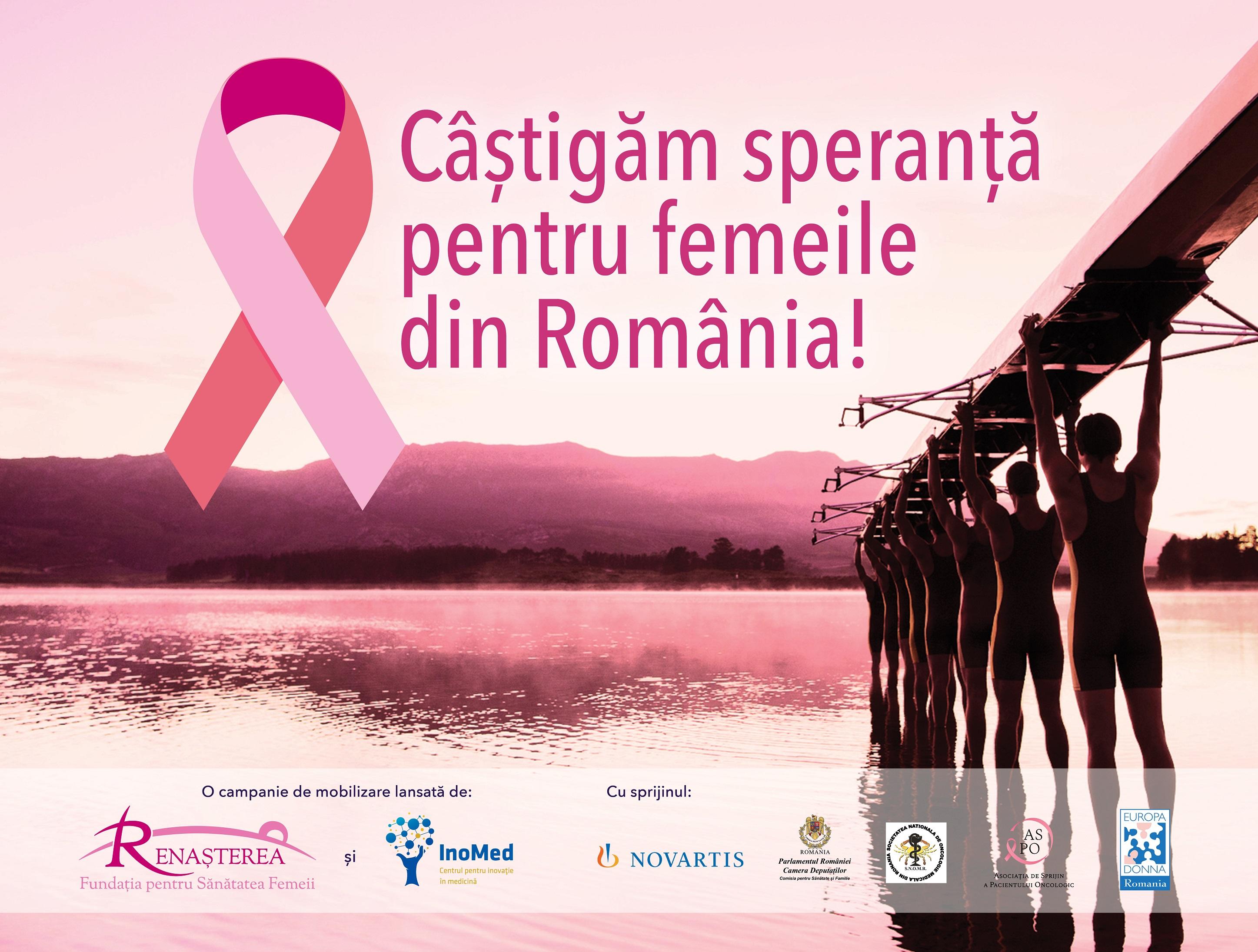 Fundația Renașterea și Centrul pentru Inovație în Medicină lansează un Apel pentru îmbunătățirea managementului cancerului mamar