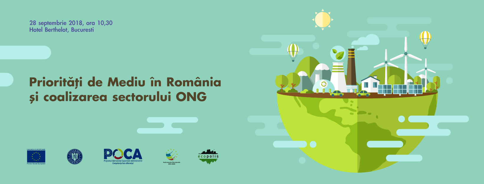 Prioritățile organizațiilor de Mediu din România și  coalizarea sectorului ONG