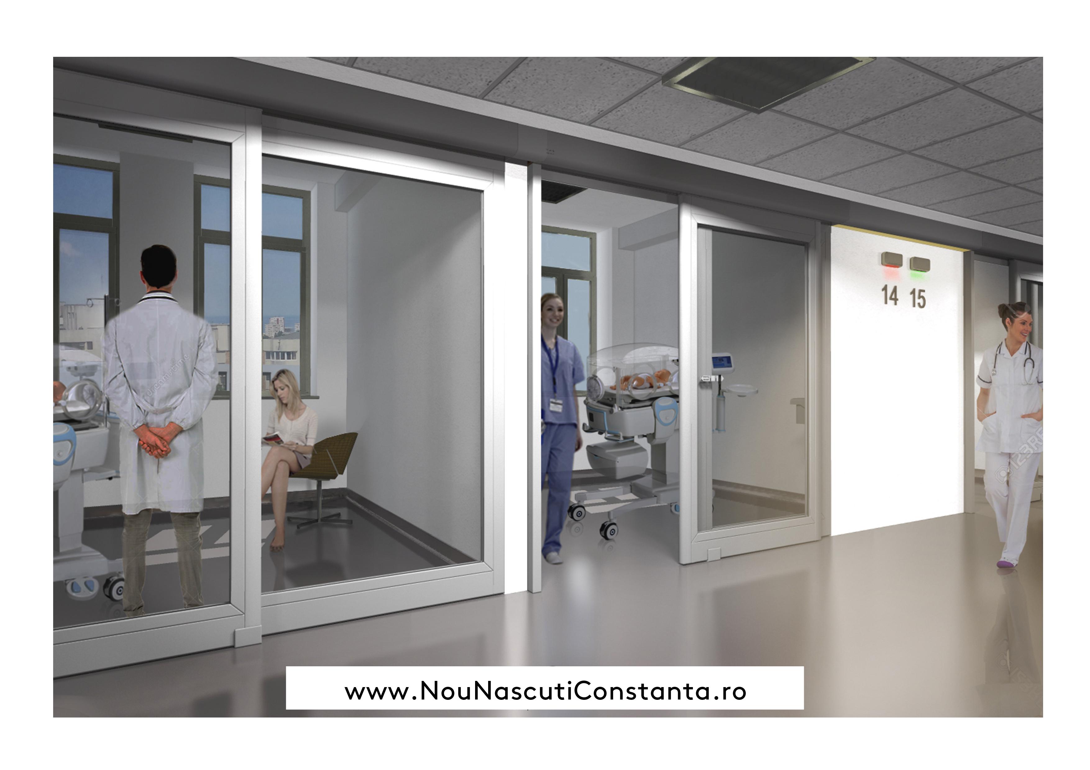 Dotarea Secției de terapie intensivă nou-născuți Constanța