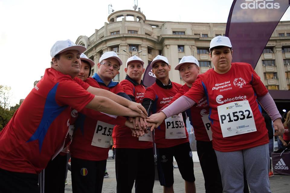 60 de sportivi cu dizabilități intelectuale aleargă pe 13 octombrie  la Maratonul București