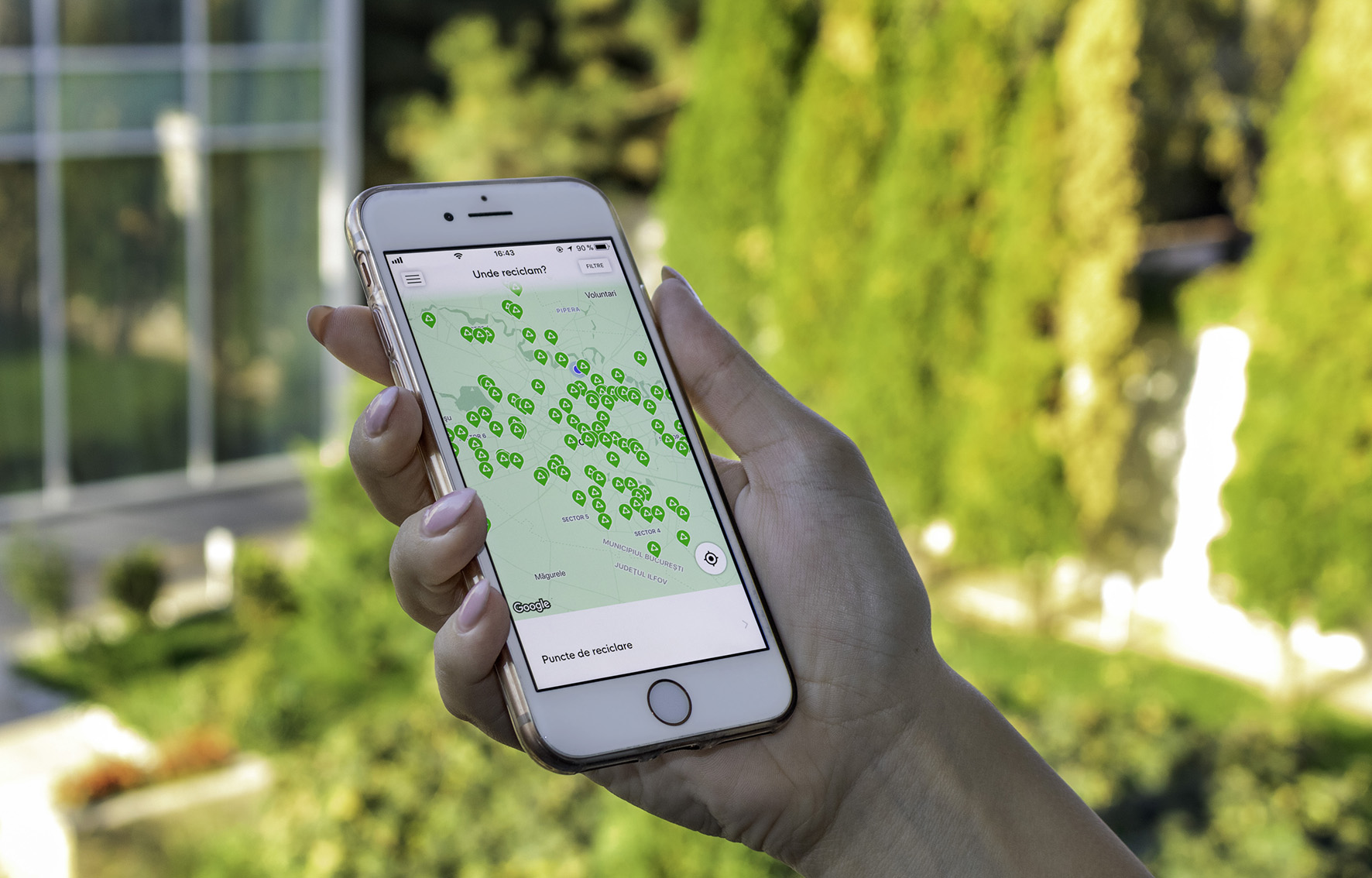 """""""Unde reciclăm""""  - prima hartă interactivă a reciclării"""
