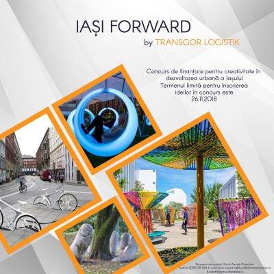 Concurs de finanțare pentru creativitate în dezvoltarea urbană a Iașului