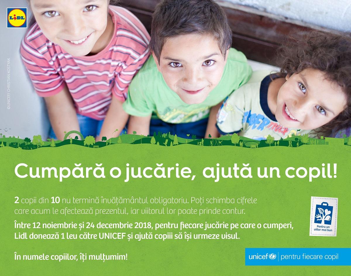 Lidl susÈ›ine accesul la educaÈ›ie pentru copiii vulnerabili