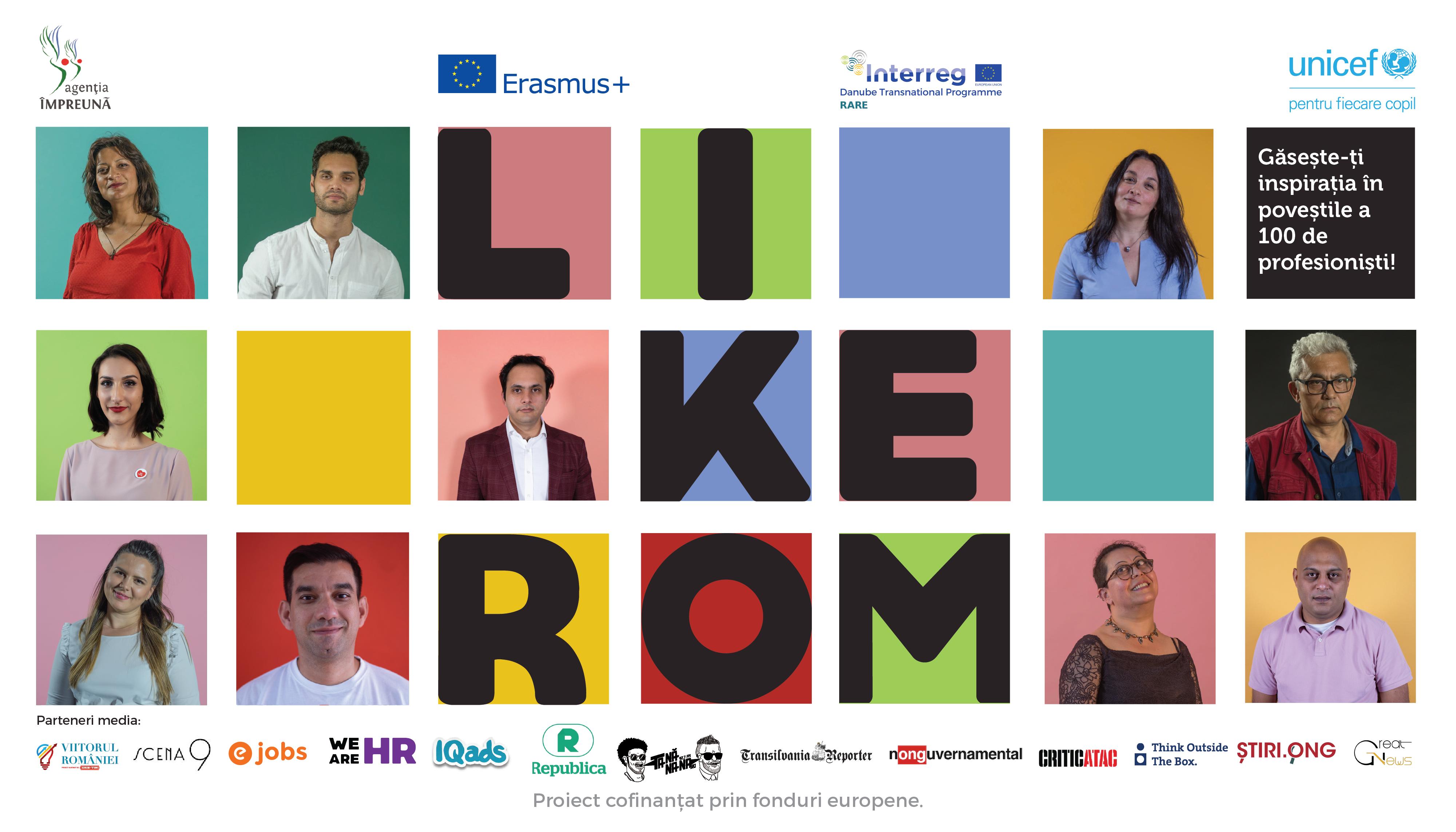 LikeRom lansează spotul oficial al primei comunități de profesioniști de etnie romă
