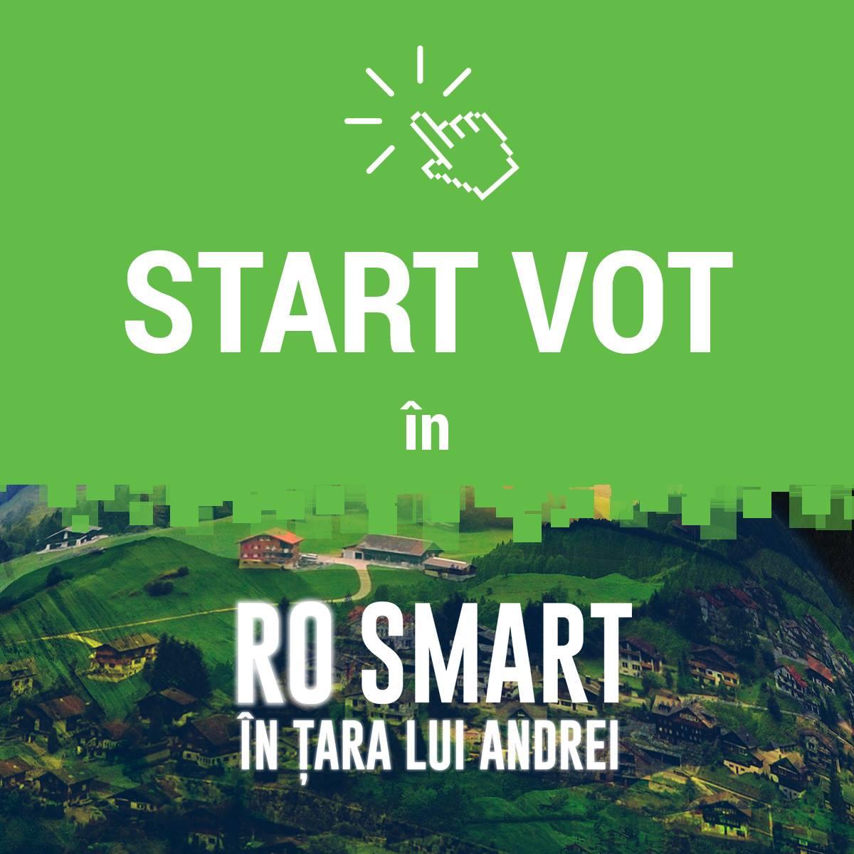 Votează proiectele care vor schimba România prin tehnologie în competiția RO SMART în Țara lui Andrei!
