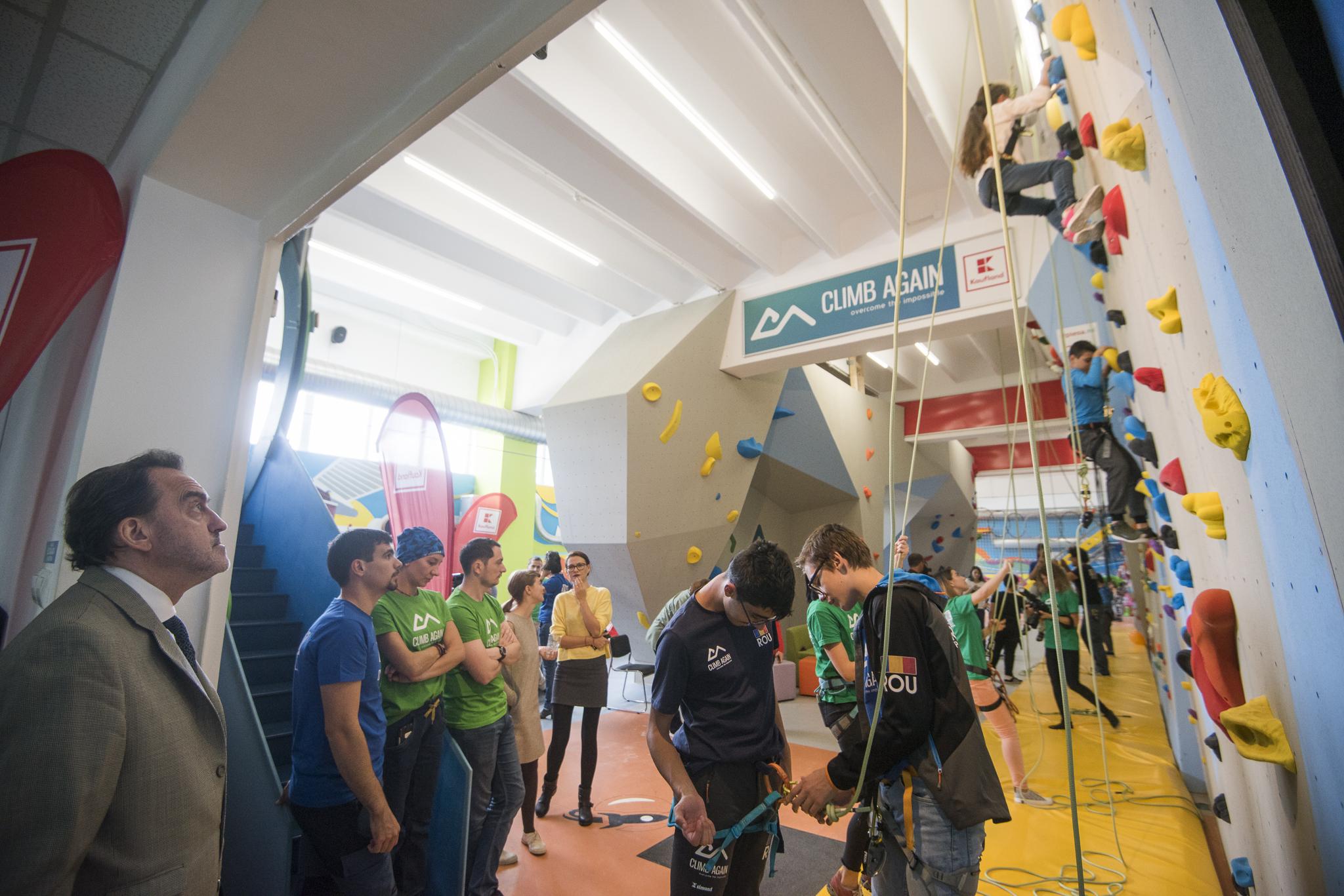 Festivalul Climb Again - cel mai mare eveniment  dedicat includerii prin escaladă a copiilor cu dizabilități