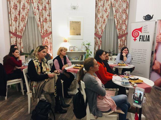 Întâlnire dedicată femeilor, despre discriminarea femeilor în accesul pe piața muncii și la locul de muncă
