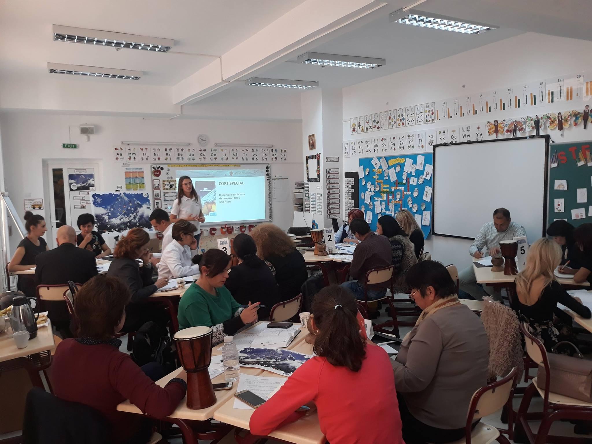 Asociația Ascendis a oferit traininguri pro-bono pentru profesioniști în educație publică și ONG