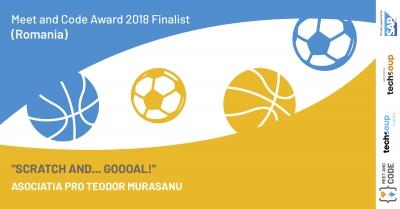 Un eveniment organizat la o școală gimnazială din Turda este finalist în Competiția internațională Meet and Code 2018