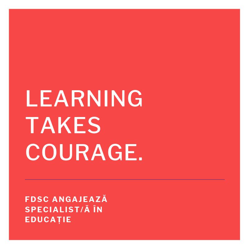 FDSC angajează specialist/ă în educație