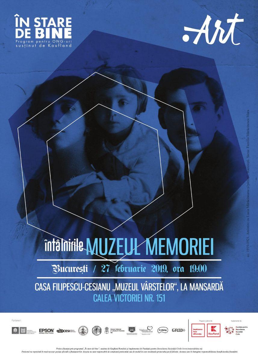 Întâlnirile Muzeului Memoriei la Casa Filipescu-Cesianu