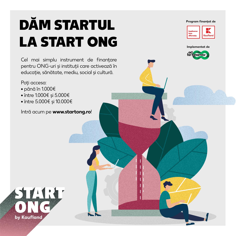 Kaufland România dă startul primului program de susținere a ONG-urilor mici, care oferă societății civile finanțări de 500.000 de euro