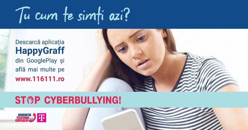 Creștere de 42,62% a numărului de cazuri tip bullying