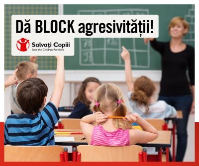 """""""Dă BLOCK agresivității! Și glumele dor. Stop Cyberbullying!�"""