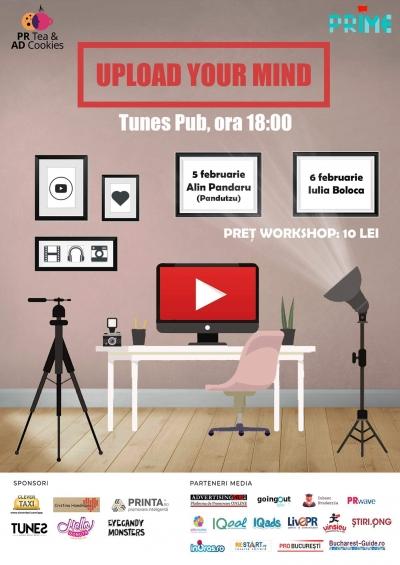 PR Tea & AD Cookies, despre YouTube: cu Pandutzu È™i Iulia Boloca