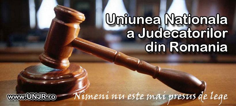 Uniunea Naţională a Judecătorilor din România (UNJR) condamnă prevederile din OUG 7/2019 de modificare a legilor justiţiei