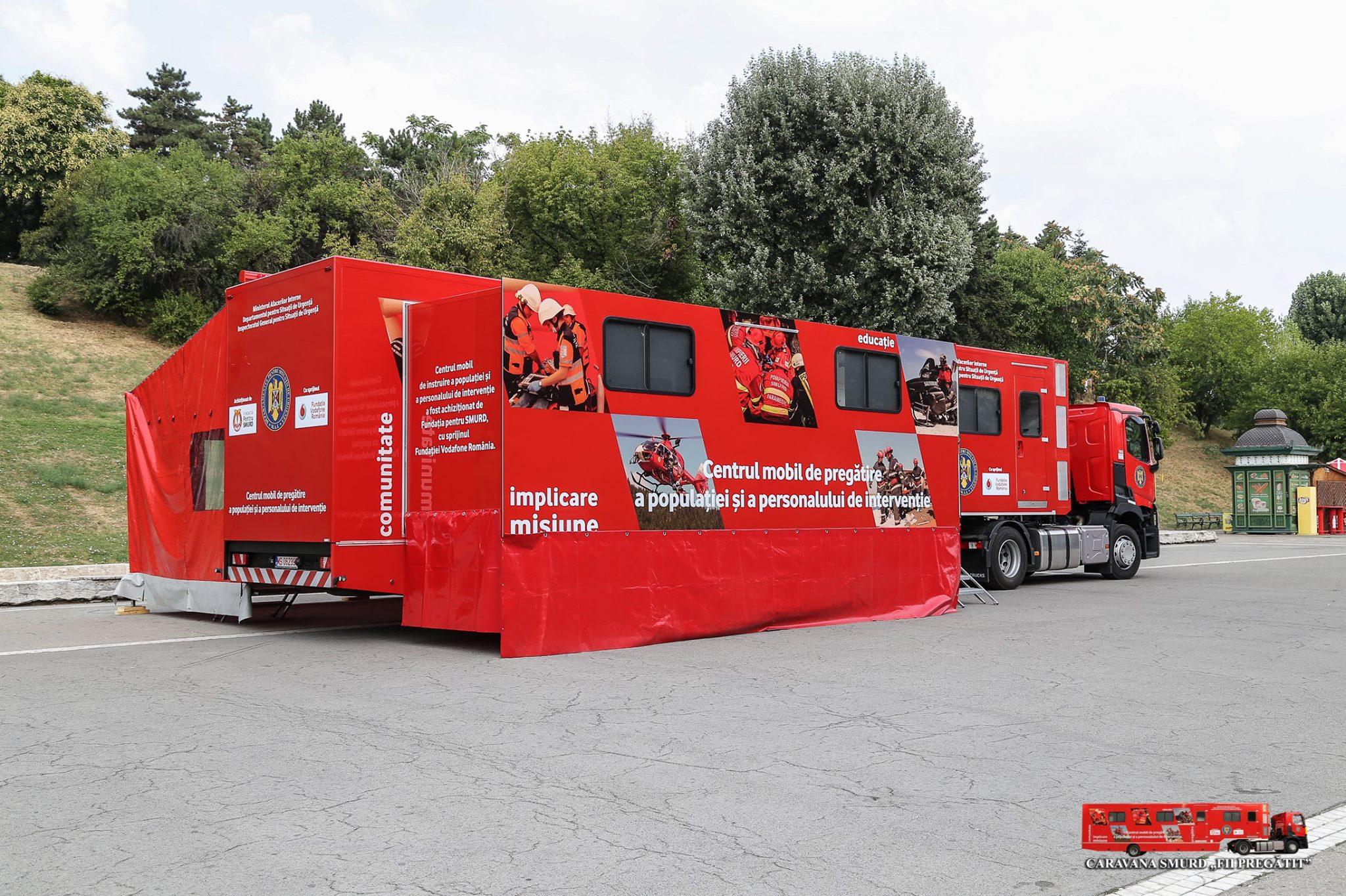 """Caravana """"Fii pregătit!"""" va ajunge în peste 70 de localități din toată țara"""