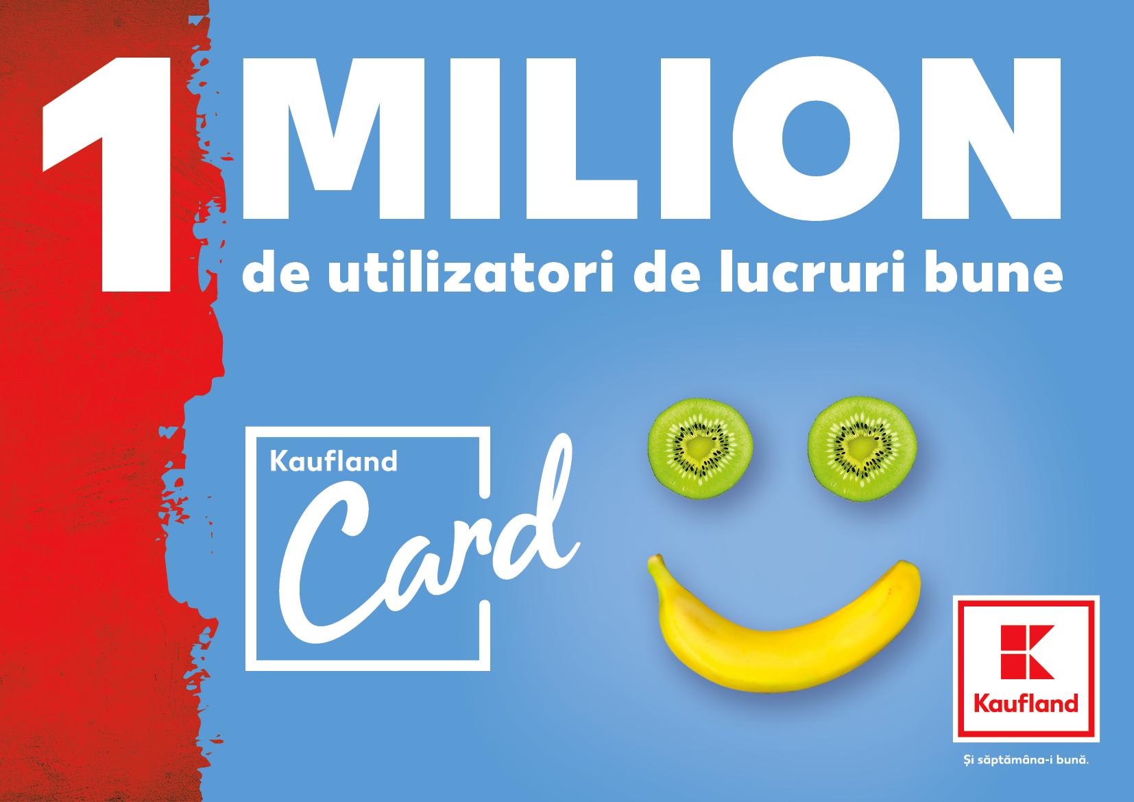 Kaufland România celebrează loialitatea clienților și îi invită să decidă unde direcționează 1 milion de lei