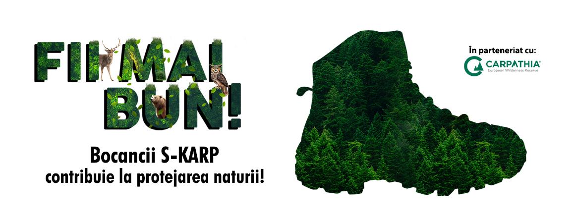 "S-KARP vine în sprijinul unor cauze umanitare printr-o campanie CSR sub îndemnul ""Fii Mai Bun!�"
