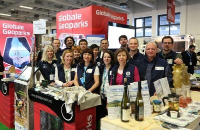 Geoparcul, prima prezență la Târgul Internațional de Turism de la Berlin