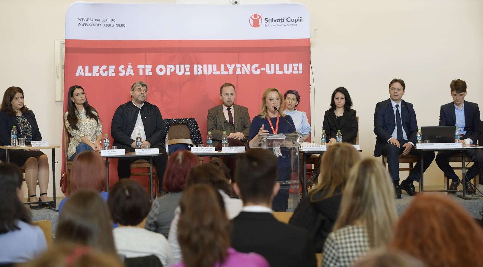 Salvați Copiii lansează campania Alege să te opui bullying-ului!