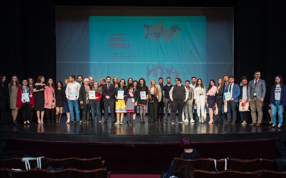 Premianţii Galei Premiilor Participării Publice din 2019 dau putere civismului în comunităţi