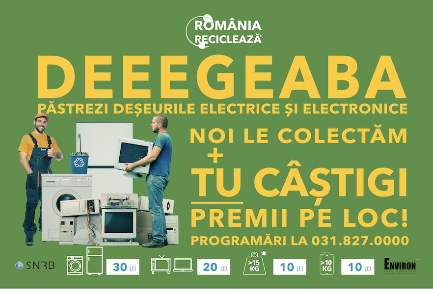 "Reîncepe ""România Reciclează"""
