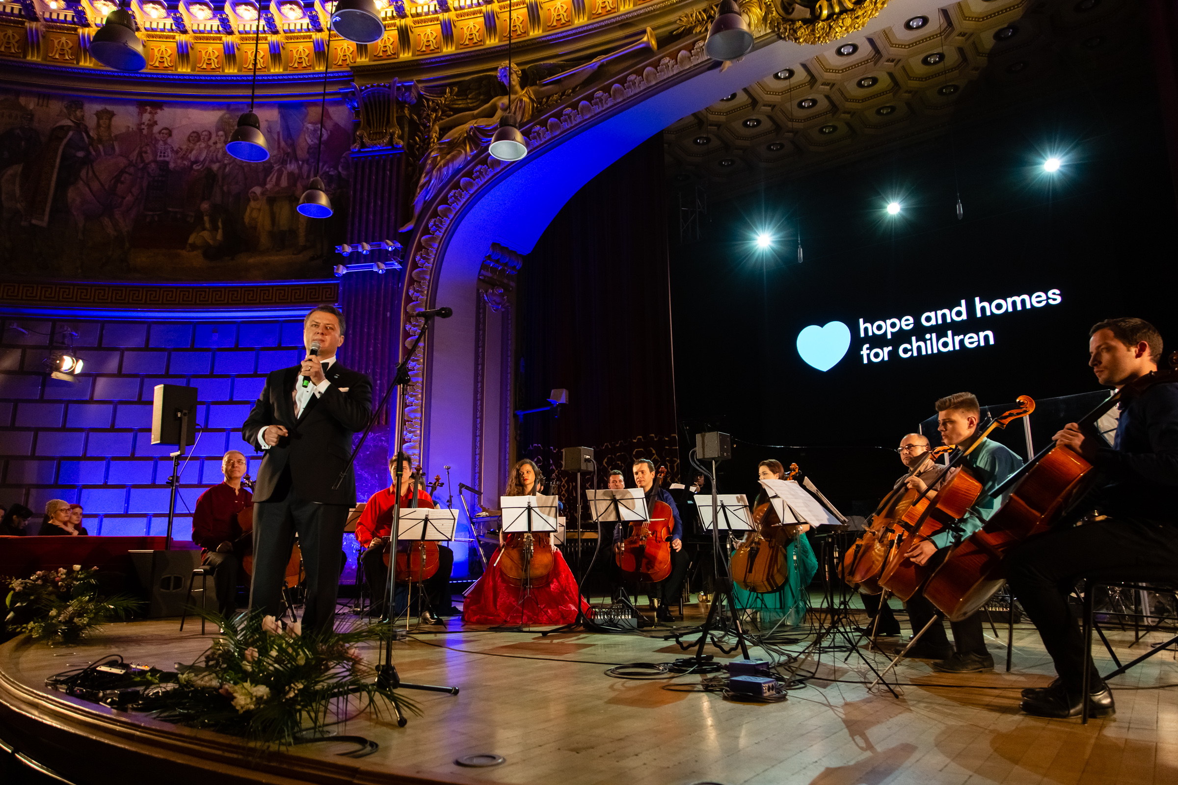 Hope Concert,  eveniment organizat de Hope and Homes for Children în sprijinul copiilor vulnerabili