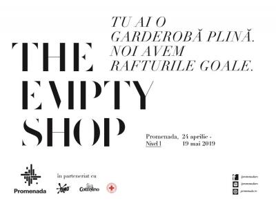 Promenada deschide a doua ediÈ›ie a The Empty Shop,  singurul magazin cu rafturi goale