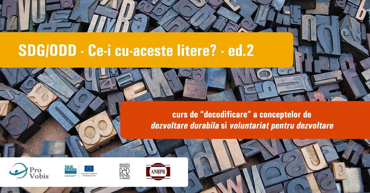 Curs de formare la București în domeniul dezvoltării durabile