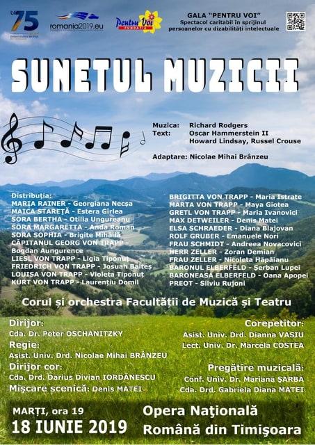 Spectacol Caritabil Sunetul Muzicii