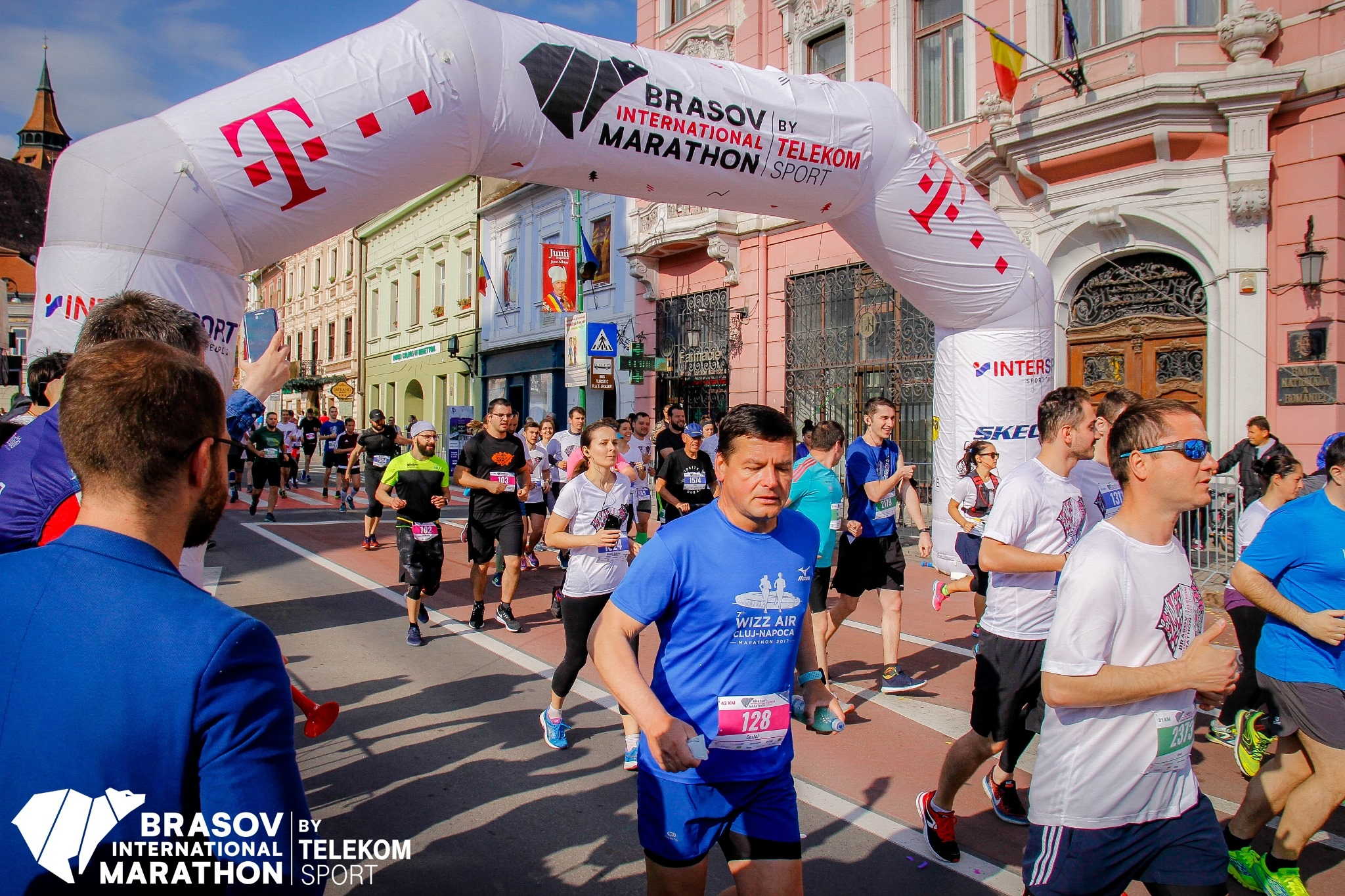Record de participanti la Maratonul InternaÈ›ional BraÈ™ov