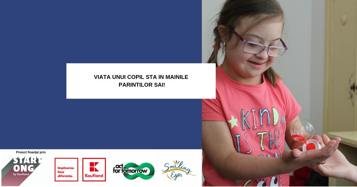 Ateliere gratuite de sprijin pentru parintii copiilor cu dizabilitati si fratii acestora