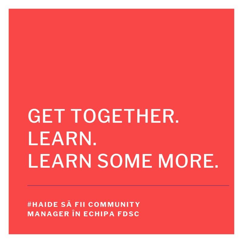 FDSC angajează community manager