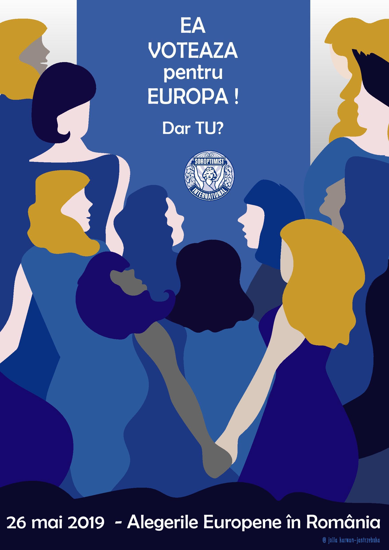 100 de ani de vot pentru femei, sărbătoriți prin VOT pe 26 mai