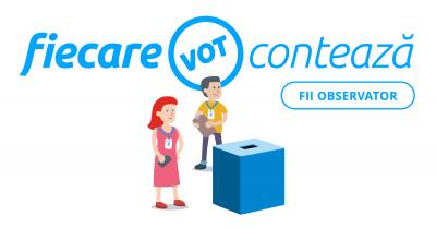 Campania de acreditare a observatorilor FiecareVot pentru alegerile europarlamentare și referendum continuă până pe 19 mai