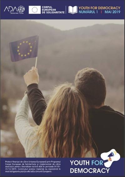 Asociația pentru Dezvoltare Activă ADA lansează revista Youth for Democracy!