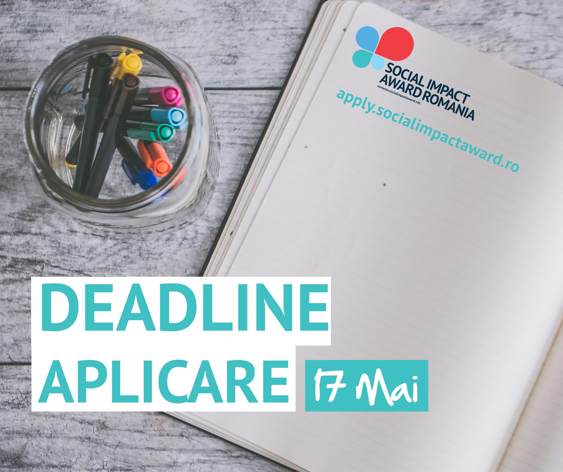 Aplică până pe 17 mai la Social Impact Award, competiție cu premii de 5000 de euro