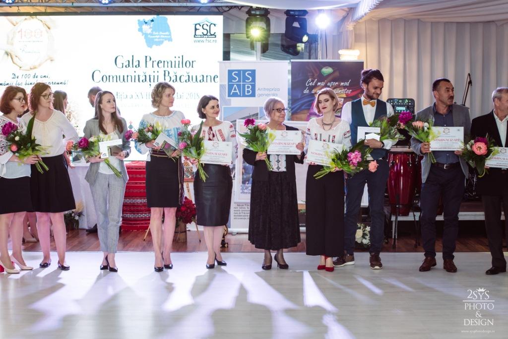 A XVIII-a ediție a Galei Premiilor Comunității Băcăuane